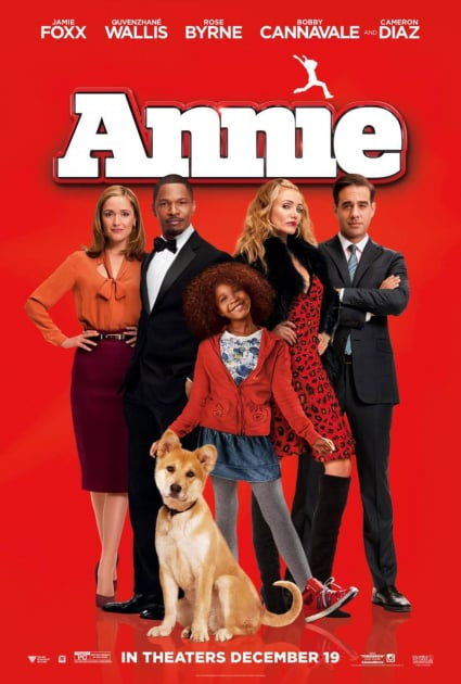 The Annie Official Poster