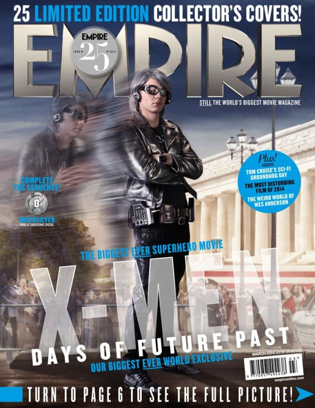 X-Men Days of Future Past Quicksilver Empire Cover