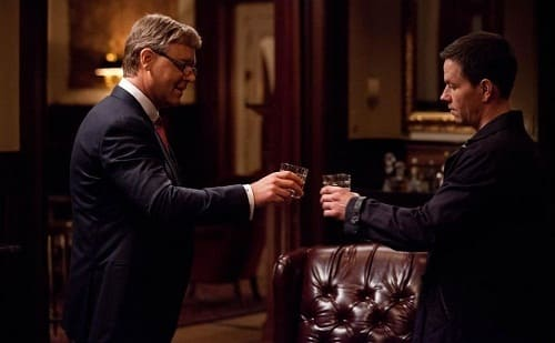 Russell Crowe and Mark Wahlberg Broken City