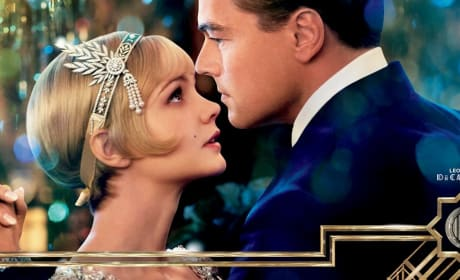 The Great Gatsby Banner Leonardo DiCaprio Carey Mulligan