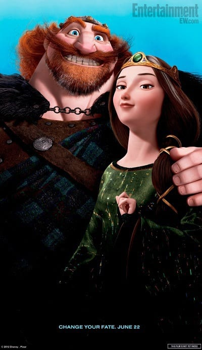 Brave Character Poster