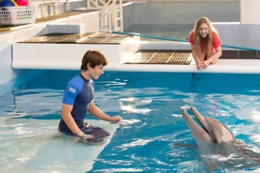 Nathan Gamble and Cozi Zuehlsdorff Dolphin Tale 2