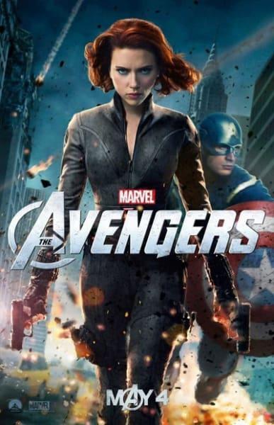 Scarlett Johansson Stars as Black Widow