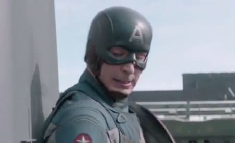 Captain America: The Winter Soldier Clip: Cap & Falcon Enter a Firefight