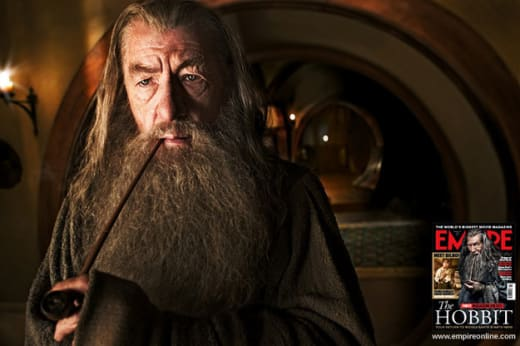 Close Up of Gandalf