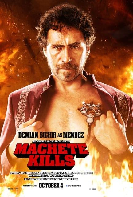 Machete Kills Demian Bichir Poster