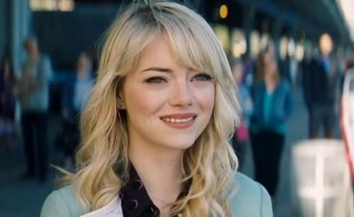 Emma Stone is Gwen Stacy