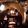 Peter Jackson and Martin Freeman The Hobbit