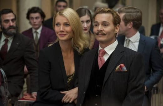 Mortdecai Johnny Depp Gwyneth Paltrow