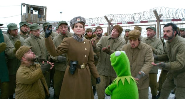 Muppets Most Wanted Tina Fey Kermit