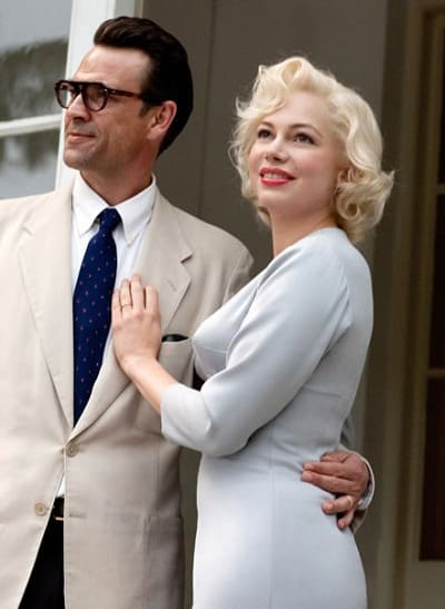 Michelle Williams and Dougray Scott in My Week with Marilyn