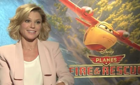 Planes Fire and Rescue Exclusive: Julie Bowen Reveals Celebrity Crushes!