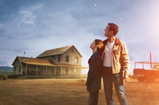 Matthew McConaughey McKenzie Foy Interstellar