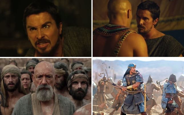 Christian bale stars as moses in exodus gods and kings