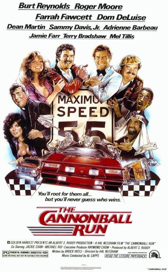Cannonball Run Poster