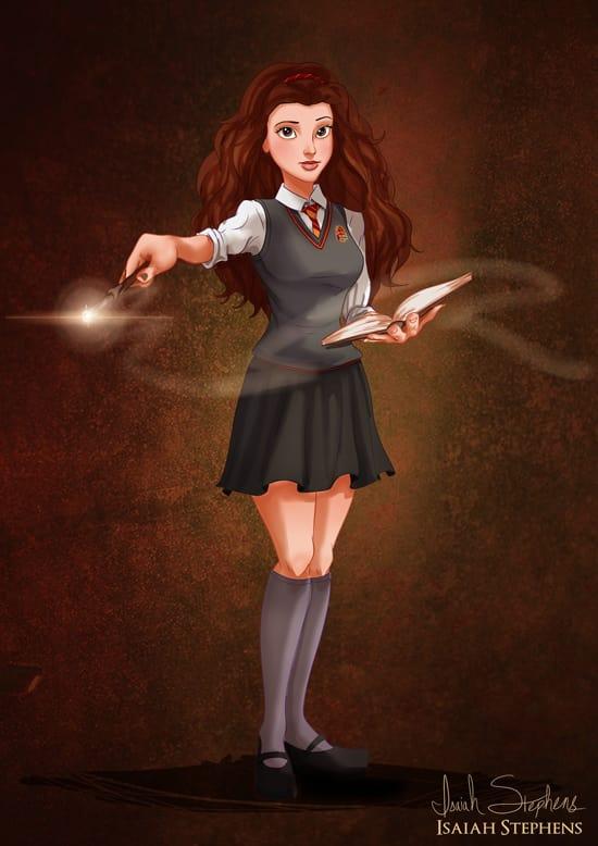Belle As Hermione