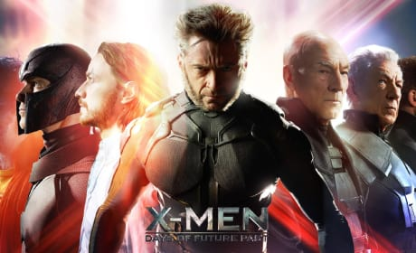 X-Men Days of Future Past Cast Banner