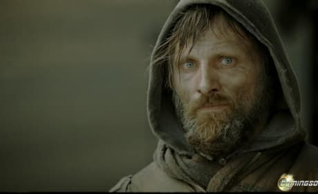 "Viggo Mortnensen as ""Man"""