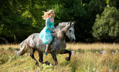 Cinderella Begins Production: First Still of Lily James!