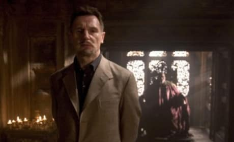 Liam Neeson is Ra's al Ghul in Batman Begins