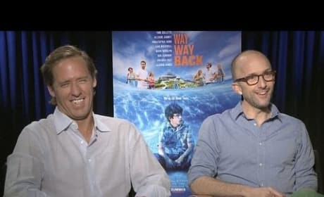 Jim Rash & Nate Faxton The Way Way Back Exclusive Interview