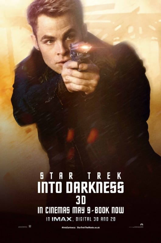 Star Trek Into Darkness Chris Pine Character Poster