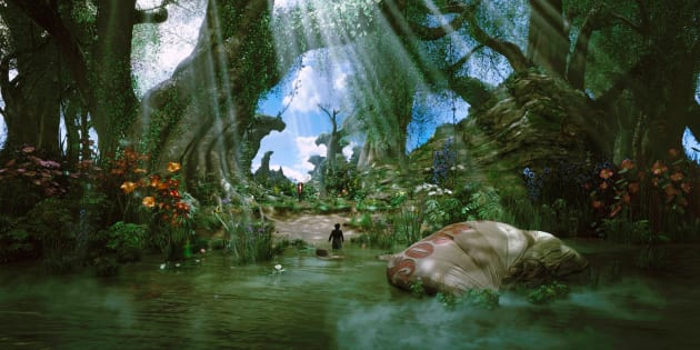 Oz: The Great and Powerful Scenery