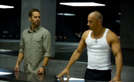 Paul Walker Vin Diesel Fast and Furious 6
