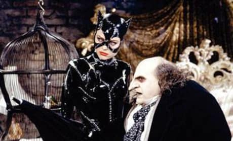 Catwoman and The Penguin