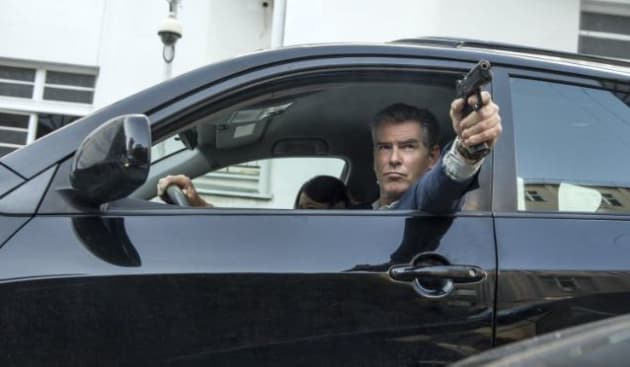 Pierce Brosnan Stars In The November Man