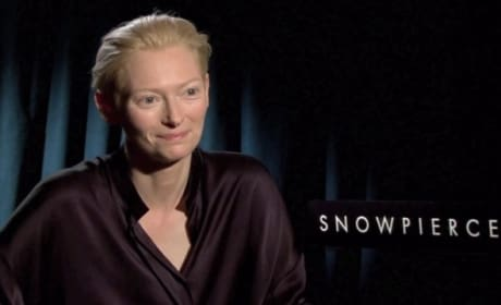 "Snowpiercer Exclusive: Tilda Swinton on Turning a ""Mouse"" Into a ""Monster"""