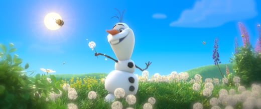 Frozen Olaf the Snowman