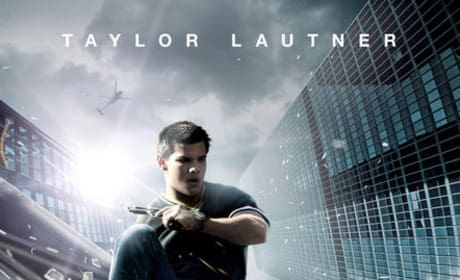 Taylor Lautner In Shattering New Abduction Poster