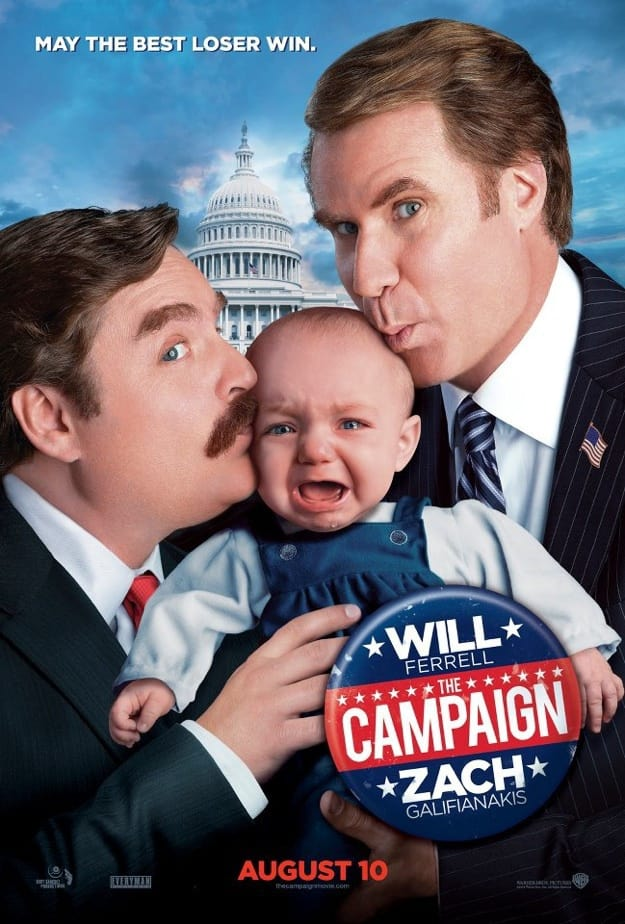 The Campaign Baby Poster
