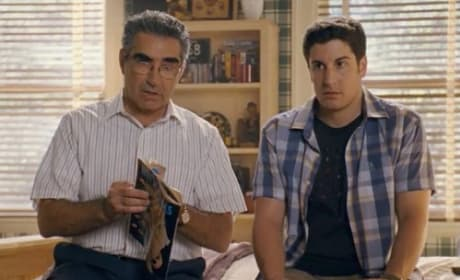 Jason Biggs and Eugene Levy in American Reunion