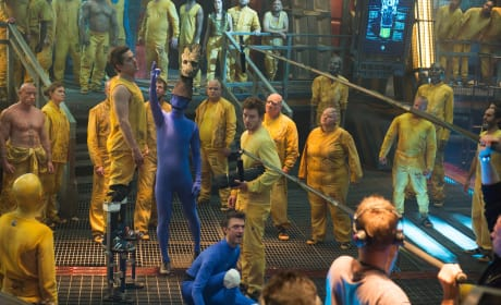 Guardians of the Galaxy Jail Scene Set Photo