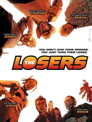 The Losers Comic Poster
