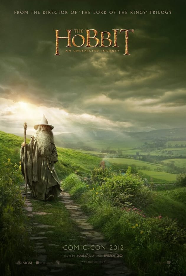 The Hobbit Comic-Con Poster