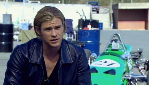 Chris Hemsworth Rush Set
