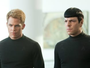 Star Trek Into Darkness Chris Pine Zachary Quinto