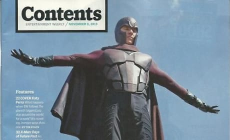 X-Men Days of Future Past Photos: Magneto Soars!