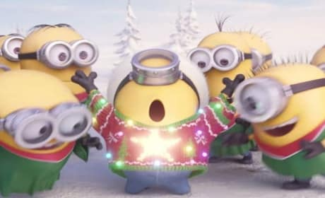Minions Send Holiday Wishes: Jingle Bells!