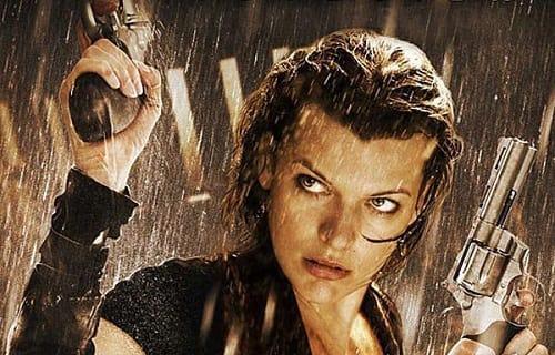Milla Jovovich in Resident Evil Retribution