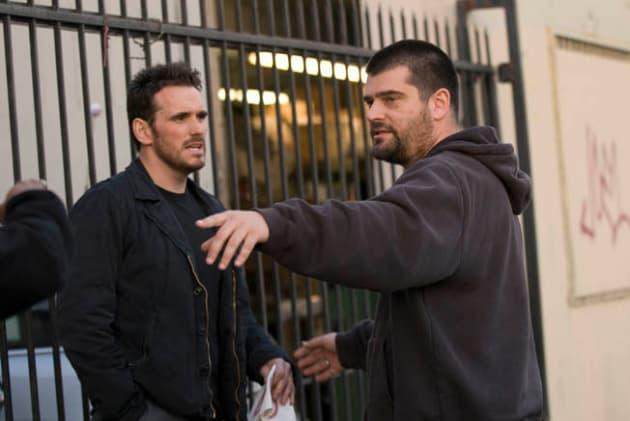 Nimrod Antal directs Matt Dillon