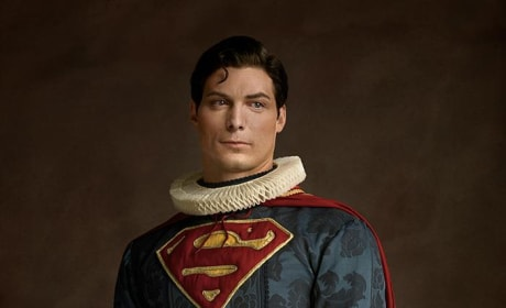 Superman In Renaissance Costume