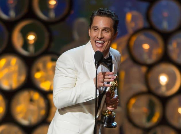 Matthew McConaughey Wins Oscar