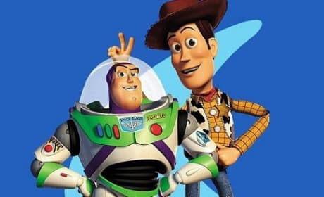 Tom Hanks and Tim Allen in Toy Story 2