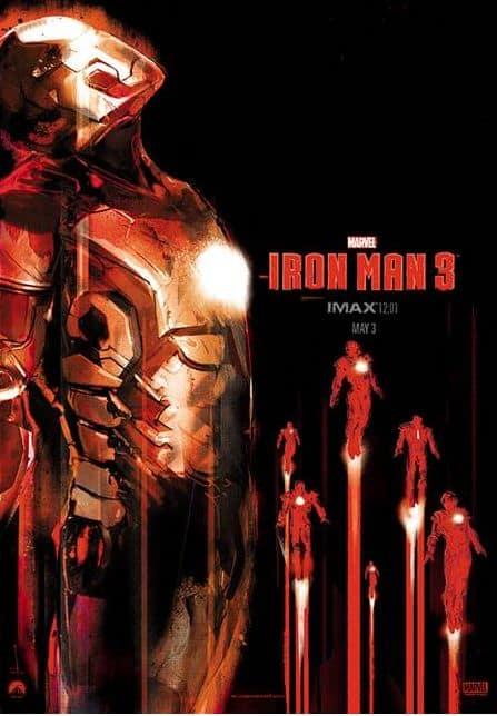 Iron Man 3 IMAX Midnight Poster