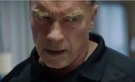 Arnold Schwarzenegger Stars in Sabotage