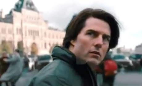 Tom Cruise in Mission Impossible: Ghost Protocol Trailer